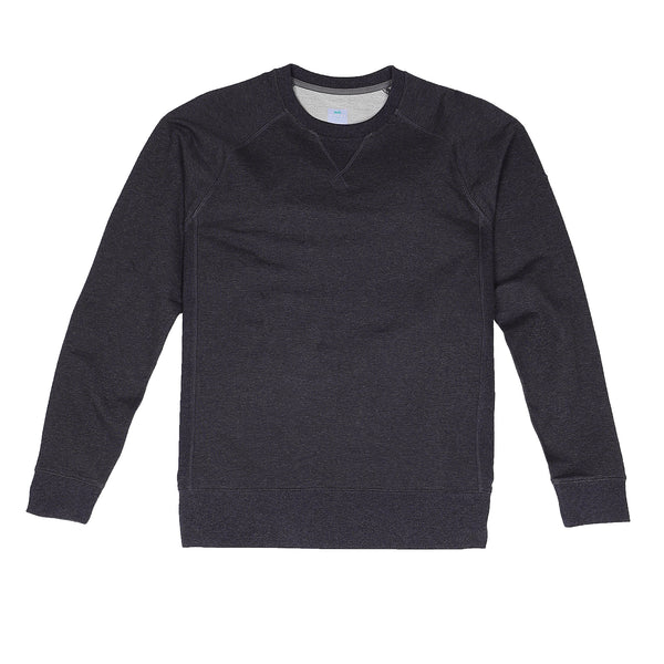 Storm Cotton Crew Sweatshirt in Heather Coal - Myles Apparel