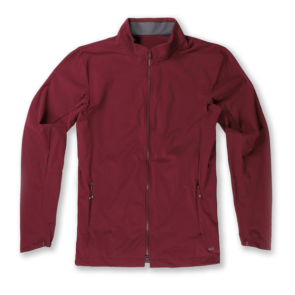 Momentum Jacket in Oxblood - Myles Apparel