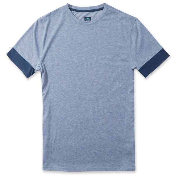 Interval Tee in Heather River- Front