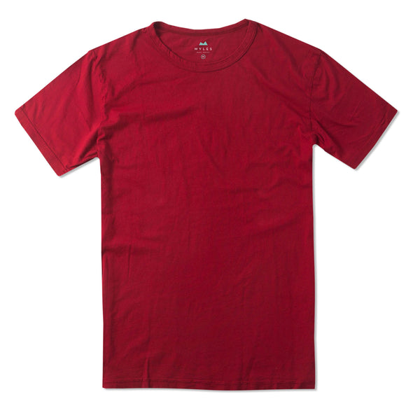 Weekend Tee in Crimson
