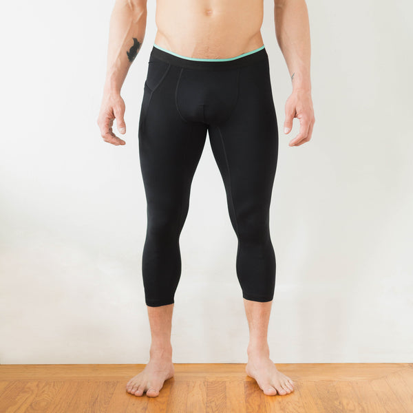Momentum Compression ¾ Pant in Coal