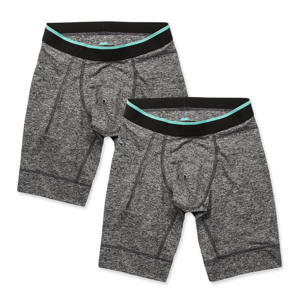 Momentum Compression Short 2 Pack in Granite/Granite