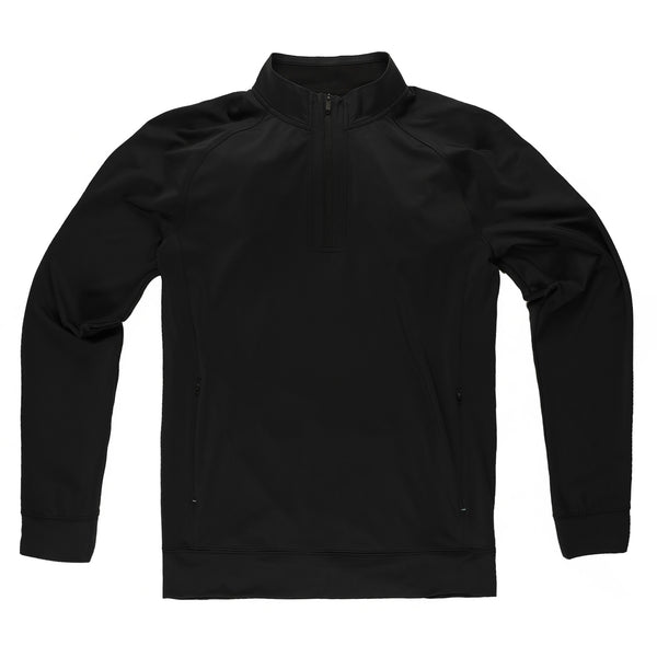 Momentum Quarter-Zip in Coal - Myles Apparel