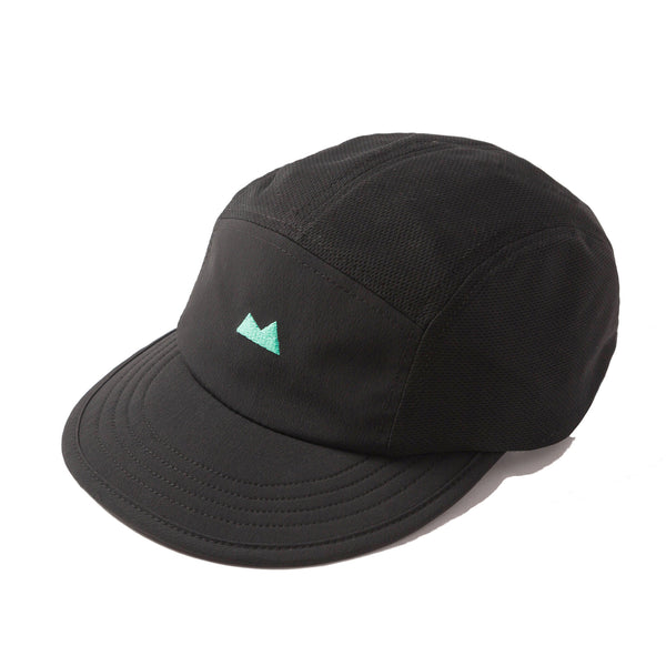Momentum Cap in Coal with Waterfall Logo