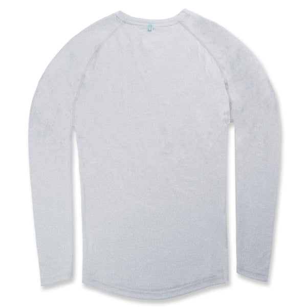 Momentum Long Sleeve in Heather Gray