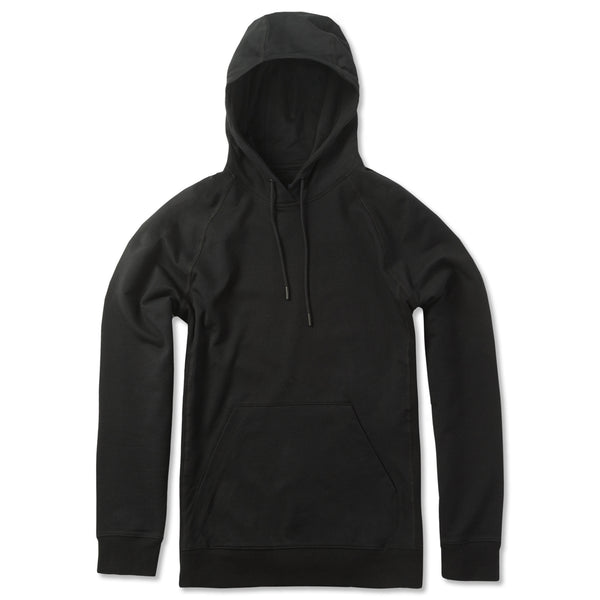 Everyday Pullover Hoodie in Coal (Original Fabric) - Myles Apparel