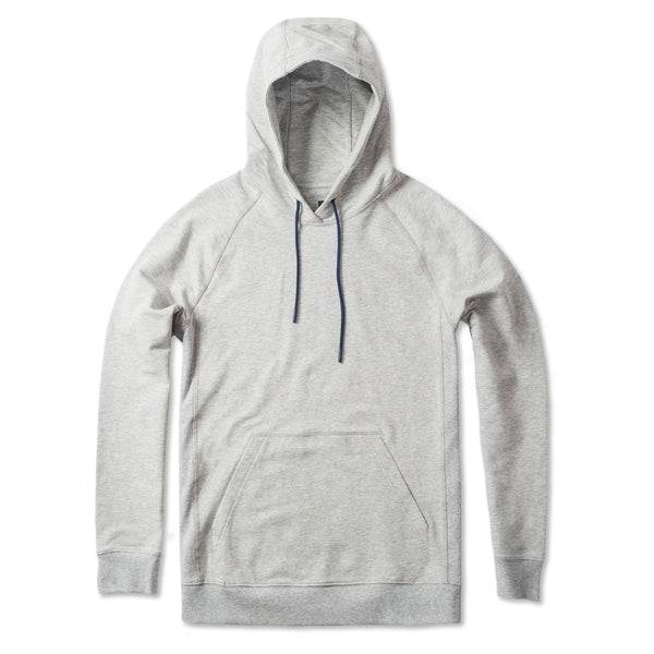 Everyday Pullover Hoodie in Heather Gray (Original Fabric) - Myles Apparel