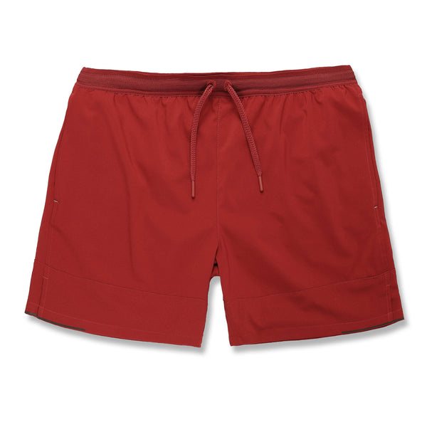 Switchback Short in Scarlet