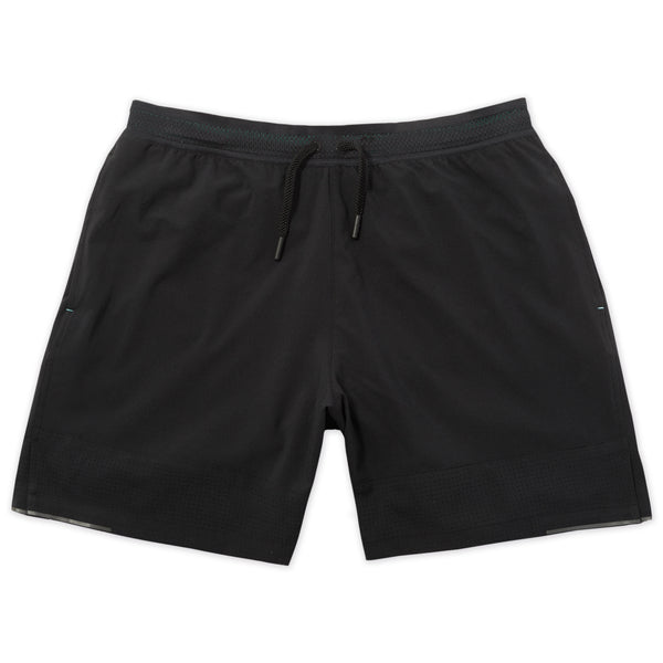 Switchback Short in Charcoal- Front
