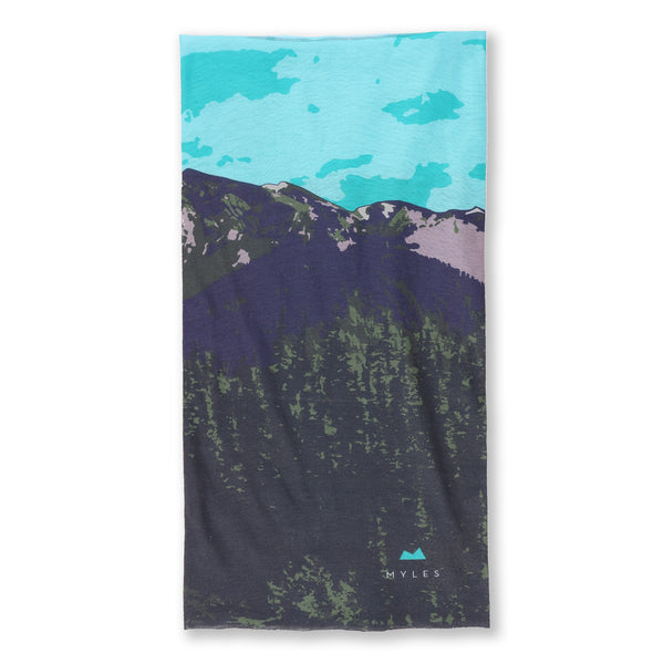 Performance Gaiter in Landscape Print - Myles Apparel