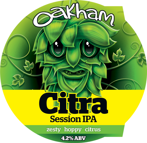 Oakham Citra 4.2% - 2 pint option.