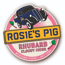 Westons Rhubarb Cider 4% - 2 pint option
