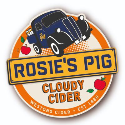 Westons Rosie Pig Cloudy - 4% - 2 pint option
