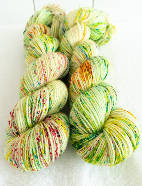 Pine Lime - So Twisted Sock