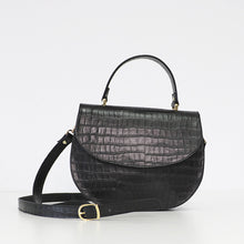 Load image into Gallery viewer, Otilia black shoulder bag