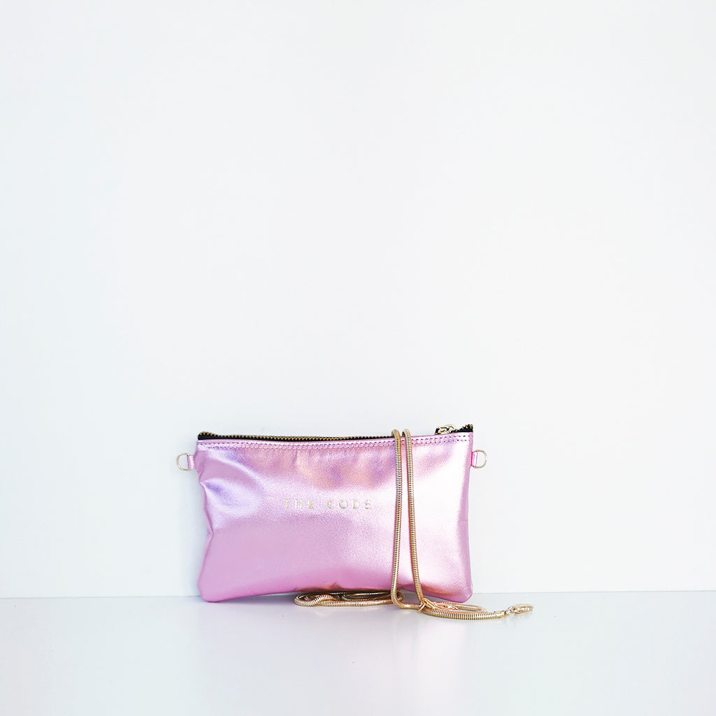 Ballet rose Pepita mini shoulder bag