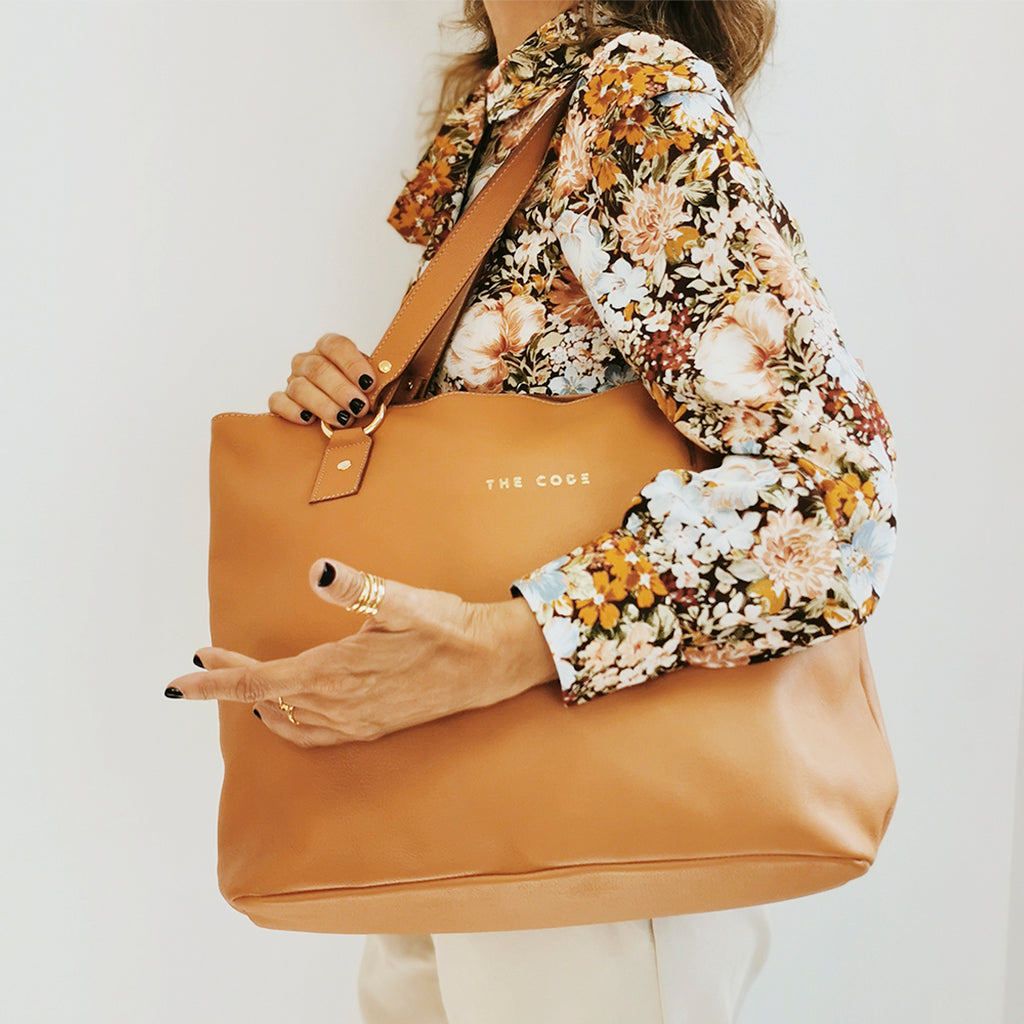 Shopper Martina cuero