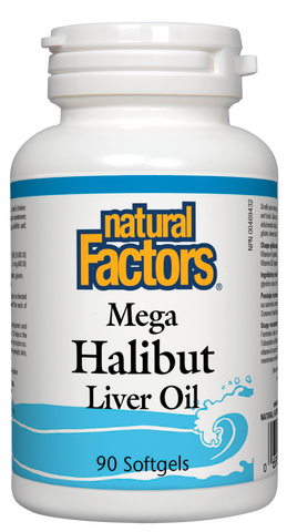 Mega Halibut Liver Oil