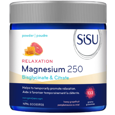 Magnesium 250 Relaxation Blend, Honey Grapefruit