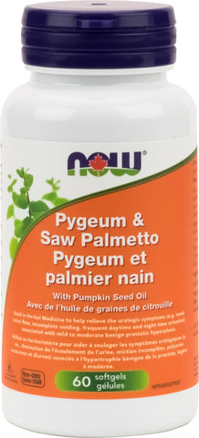 Pygeum & Saw Palmetto 25 mg/80 mg