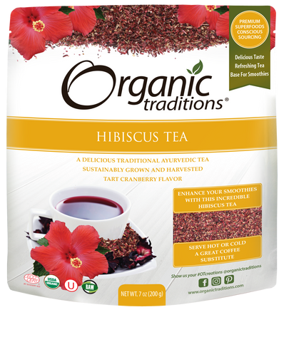 Organic Hibiscus Tea Cut