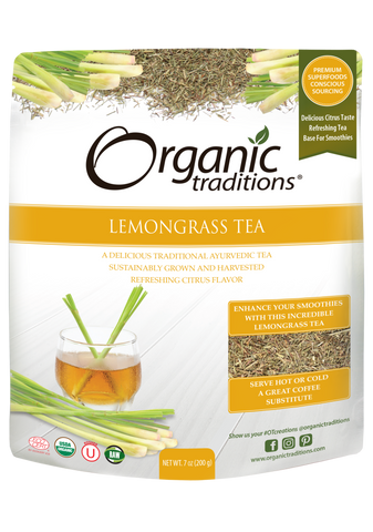 Organic Lemongrass Tea Cut