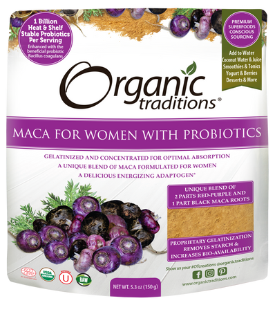 Organic Maca for Women with Probiotics