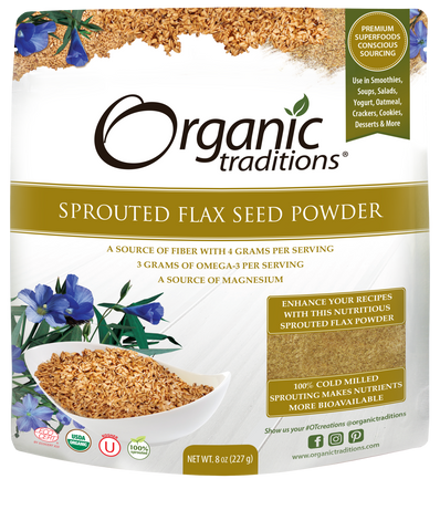 Sprouted Flax, Golden