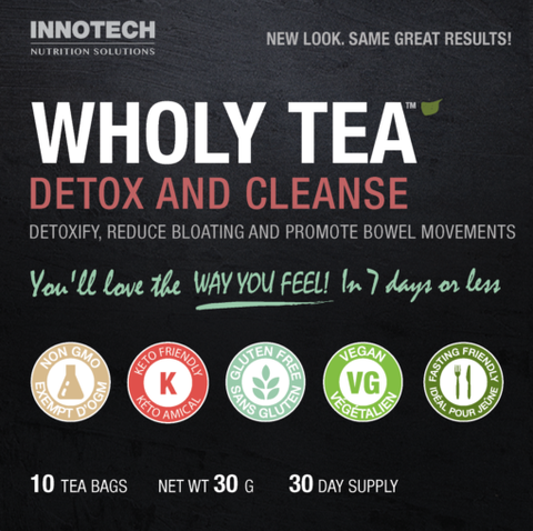 Wholy Tea - Detox and Cleanse