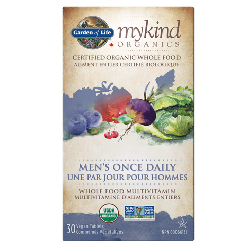 mykind Organics - Men's Once Daily Multivitamin