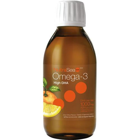NutraSea Omega-3 DHA, Juicy Citrus