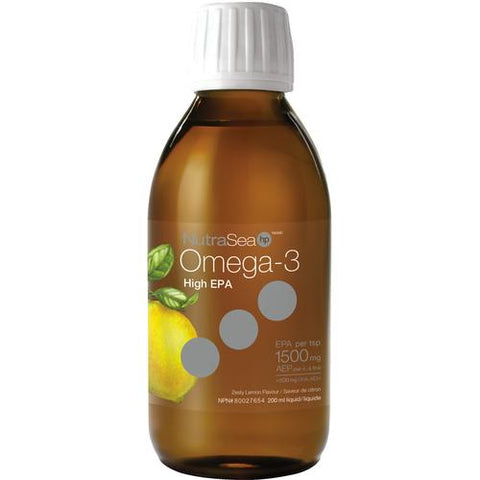 NutraSea HP Omega-3, Lemon