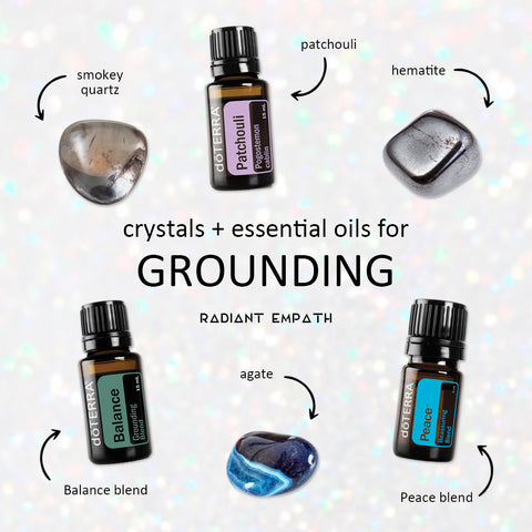 essential oils for grounding