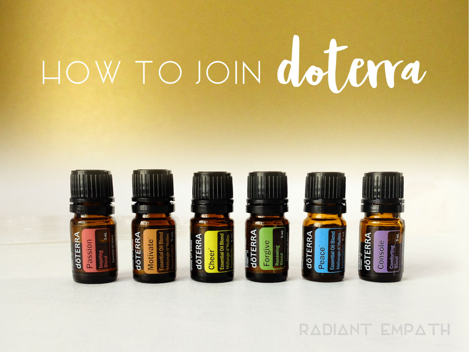 how to join doterra