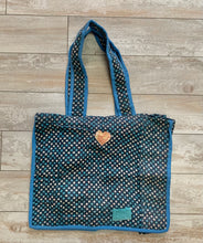 Load image into Gallery viewer, Kantha Tote Polka Dots
