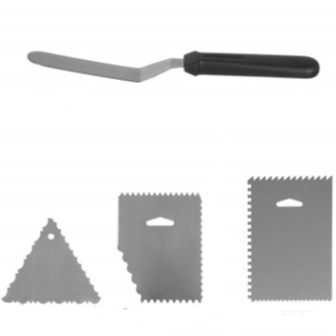 Kit 5 pezzi per Cake Decoration