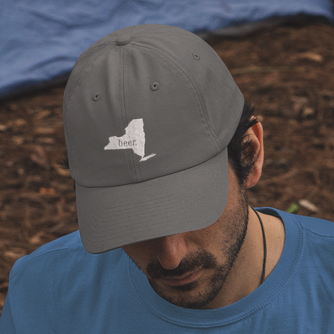 NYS Beer Cap | Charcoal
