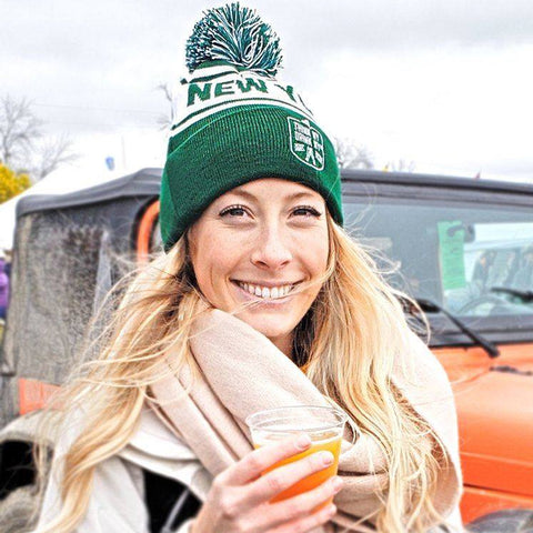 Think NY, Drink NY | Pom Beanie