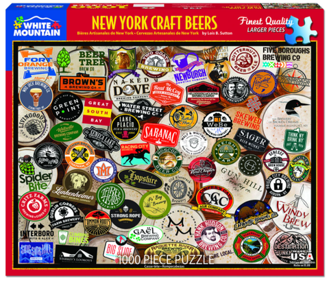 NYS Craft Beer Jig Saw Puzzle