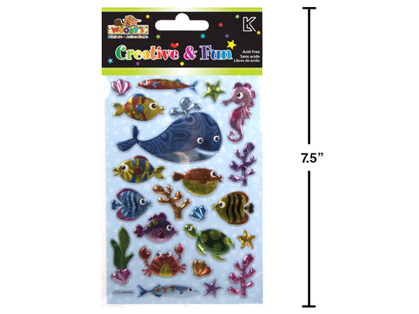 WOODY'S STICKERS SEA CREATURES