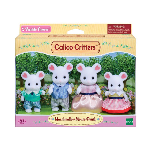 CALICO FAMILY MARSHMALLOW MOUSE