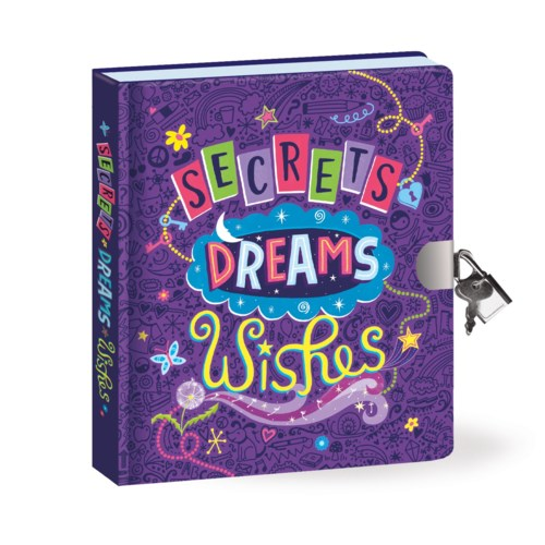 SECRETS,DREAMS, WISHES DIARY