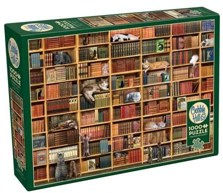 COBBLE HIL 1000 PC THE CAT LIBRARY