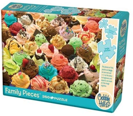 COBBLE HIL FAMILY PUZZLE MORE ICE CREAM