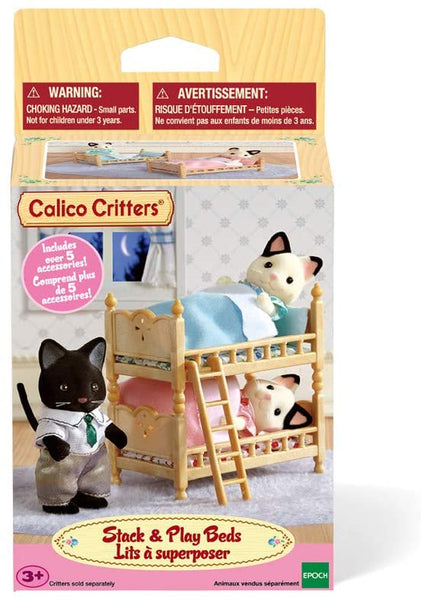 CALICO STACK & PLAY BEDS