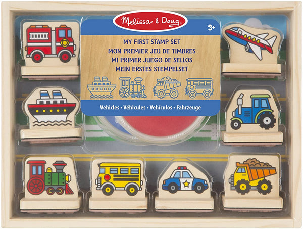 MY FIRST STAMP SET: VEHICLES
