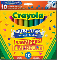 CRAYOLA WASHABLE EXPRESSION STAMPERS