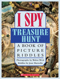 I SPY TREASURE HUNT - A BOOK OF PICTURE RIDDLES