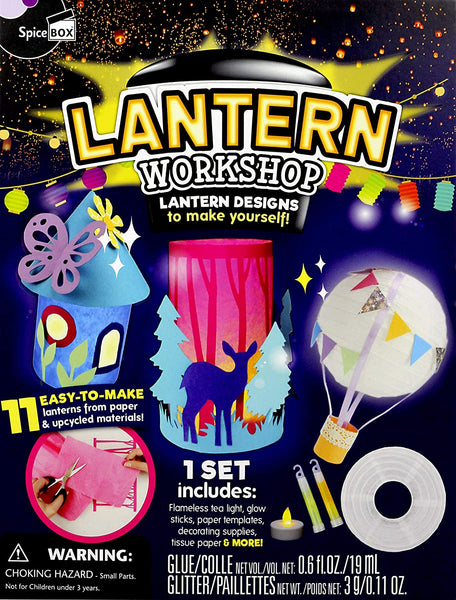 SPICEBOX- LANTERN WORKSHOP CRA