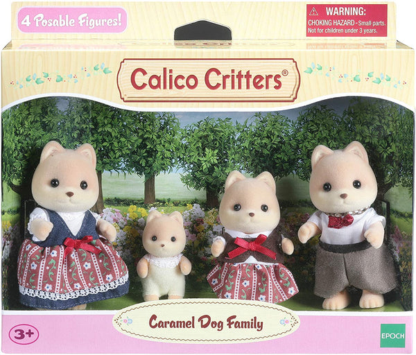 CALICO FAMILY CARAMEL DOG